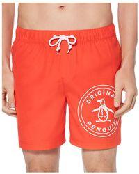 e2d7a30f77779 Men's Original Penguin Beachwear - Lyst