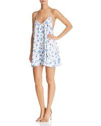 Cami NYC - Rori Silk Floral Slip Dress - Lyst