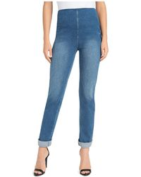 Lyssé - Boyfriend Denim Leggings - Lyst