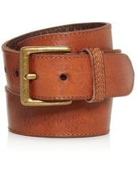 Frye - Bowery Leather Belt - Lyst