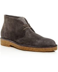 Vince - Men's Crofton Suede Chukka Boots - Lyst
