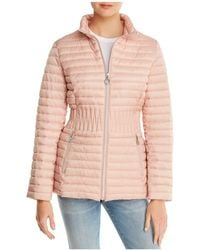 Laundry by Shelli Segal - Packable Puffer Coat - Lyst