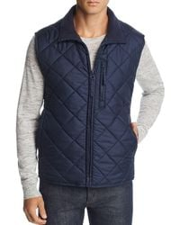 Marc New York - Chester Quilted Zip-front Vest - Lyst