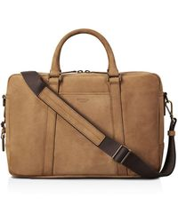 Shinola - Outrigger Leather Slim Briefcase - Lyst