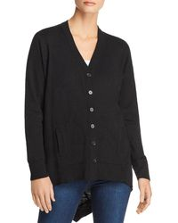 Wilt - High/low Cotton Cardigan - Lyst
