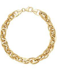 Bloomingdale's - 14k Yellow Gold Oval Links Chain Bracelet - Lyst