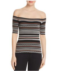 Bailey 44 - Lasso Off-the-shoulder Sweater - Lyst