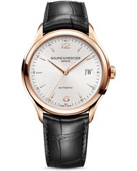 Baume & Mercier - Clifton Automatic Watch, 39mm - Lyst