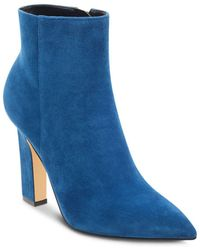 Marc Fisher - Mayae Suede Pointed Toe High-heel Booties - Lyst