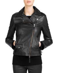 Gerard Darel - Susan Leather Moto Jacket - Lyst