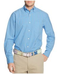 Vineyard Vines - Folly Beach Gingham Classic Fit Murray Button-down Shirt - Lyst