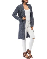 B Collection By Bobeau - Jay Marled Open-front Duster - Lyst