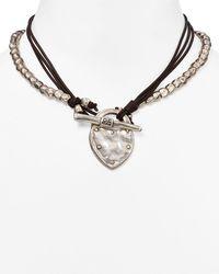 Uno De 50 - The Secret Pendant Necklace - Lyst