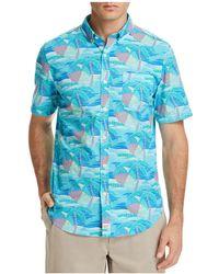 Vineyard Vines - Linear Umbrella Slim Fit Button-down Shirt - Lyst