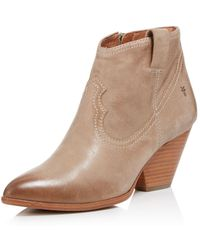 Frye - Women's Reina Leather Booties - Lyst