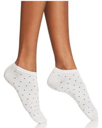 Kate Spade - Microdot Ankle Socks - Lyst