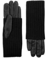 SOIA & KYO - Carmel Convertible-cuff Tech Gloves - Lyst
