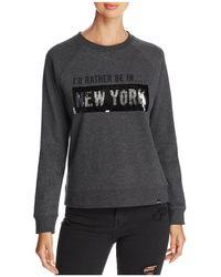 Marc New York - Performance Sequin Graphic Sweatshirt - Lyst