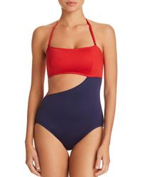 Mei L'ange - Madeline Color-blocked One Piece Swimsuit - Lyst