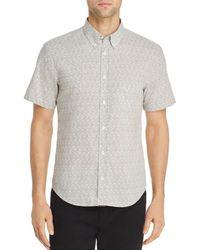 Billy Reid - Palisades Tuscam Geometric-print Regular Fit Button-down Shirt - Lyst