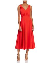 Betsey Johnson - Pebble Georgette Crepe Dress - Lyst