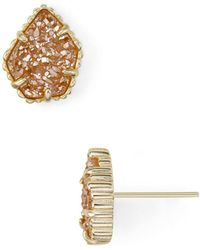 Kendra Scott - Tessa Stud Earrings - Lyst