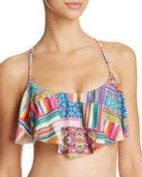 Blush By Profile - Candy Apple D Cup Flutter Bikini Top - Lyst