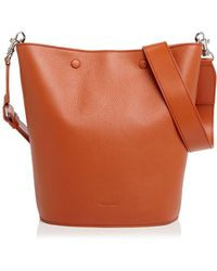 Steven Alan - Rhys Leather Bucket Bag - Lyst