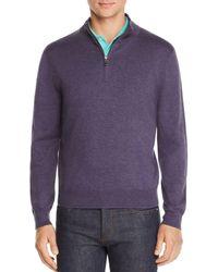 Brooks Brothers - Half-zip Sweater - Lyst