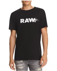 G-Star RAW - Broaf Crewneck Short Sleeve Tee - Lyst