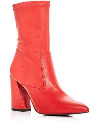 Kenneth Cole - Women's Galla Leather High Heel Booties - Lyst