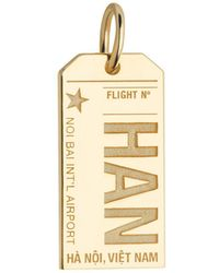 Jet Set Candy - Han Hanoi Vietnam Luggage Tag Charm - Lyst