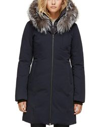 SOIA & KYO - Fur Trim Down Parka - Lyst