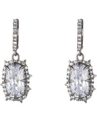 Alexis Bittar - Framed Crystal Cushion Drop Earrings - Lyst