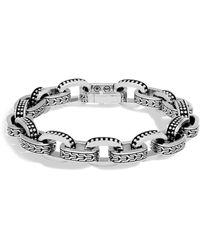 John Hardy - Men's Sterling Silver Classic Chain Jawan Link Bracelet - Lyst