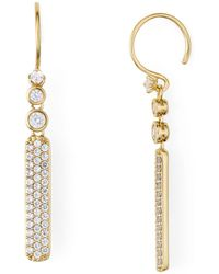 Nadri - Aura Pavé Drop Earrings - Lyst