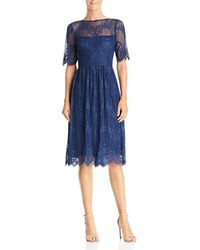 Adrianna Papell - Chantilly Lace Dress - Lyst