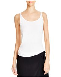 Eileen Fisher - System Scoop Neck Long Silk Cami - Lyst