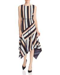 d0108e1e3d702 Lafayette 148 New York - Marnie Sleeveless Striped Dress - Lyst
