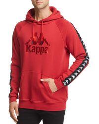 Kappa - Authentic Hurtado Hooded Logo-print Sweatshirt - Lyst