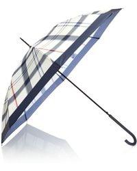 Barbour | Summer Tartan Umbrella | Lyst