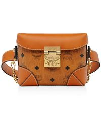 MCM - Soft Berlin Small Visetos Belt Bag - Lyst