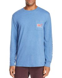 Vineyard Vines - Football Whale Heathered Tee - Lyst