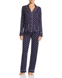 Splendid - Piped Pajama Set - Lyst