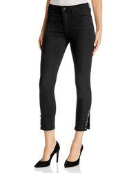 Joe's Jeans - Charlie Embellished Crop Skinny Jeans In Valentina - Lyst