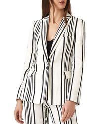 Reiss - Rodeo Striped Blazer - Lyst
