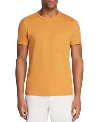 Theory - Essential Pocket Tee - Lyst