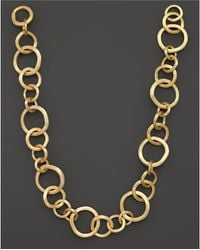 """Marco Bicego - Jaipur 18k Yellow Gold Necklace, 19"""" - Lyst"""