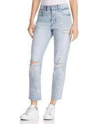 Pistola - High-rise Astrology Straight-leg Jeans In What's Your Sign - Lyst