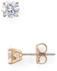 Nadri - Sparkle Stud Earrings - Lyst